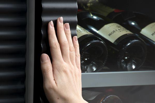 thermador wine refrigeration open door assist