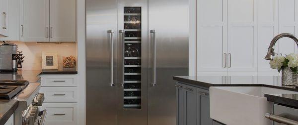 Stainless Steel Refrigerator Freezer Built In Fridge