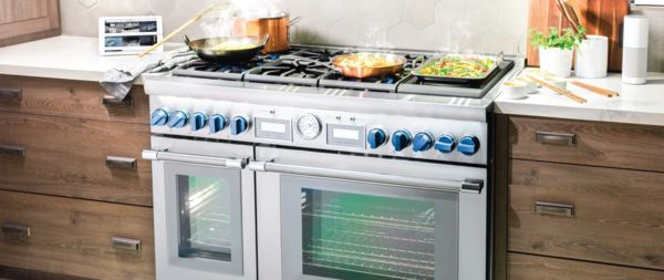 Luxury Gas Ranges Cooking