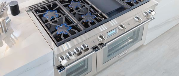 48 Inch Gas Ranges Dual Fuel