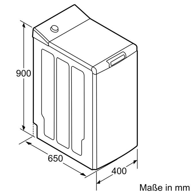 Beliebt CONSTRUCTA - CWT10R16 - Waschmaschine, Toploader UN79
