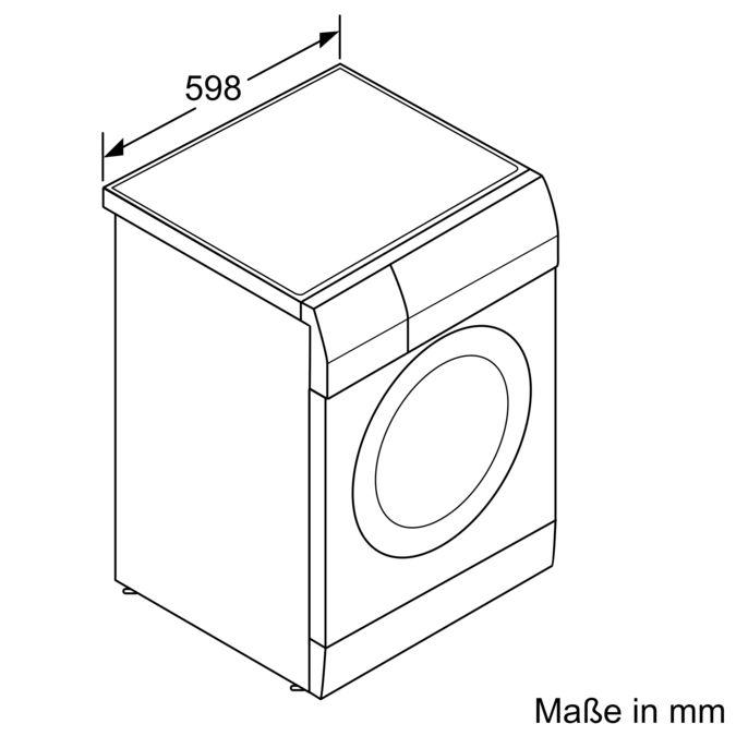IQ700 Waschtrockner 7 Kg 1400 U Min WD14H540