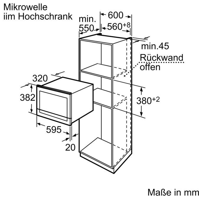 SIEMENS HF25M6R2 Mikrowellengerät