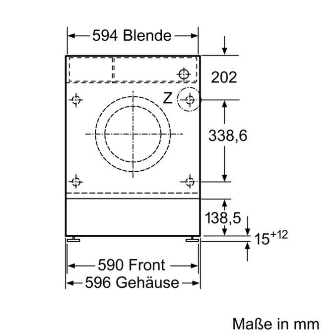 Gut bekannt SIEMENS - WI14W440 - Einbau-Waschmaschine DB49