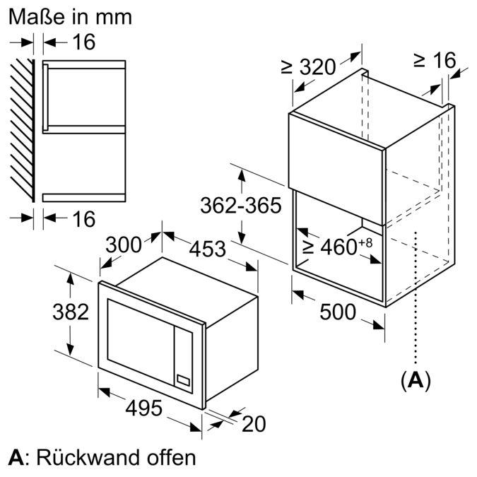 Mikrowellengerät Breite 45 bis 50 cm Preisvergleich