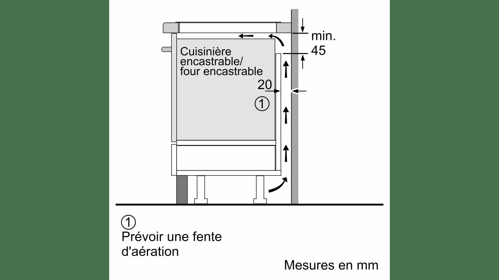 Siemens Ex275fxb1e Table à Induction