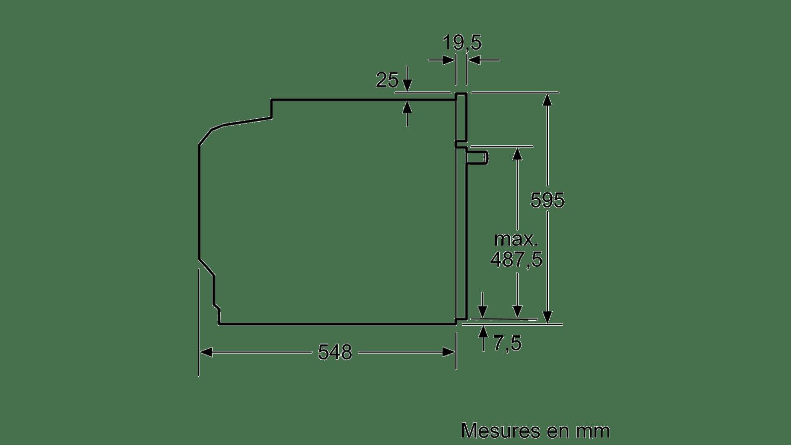 Siemens Hb274abs0 Four Encastrable