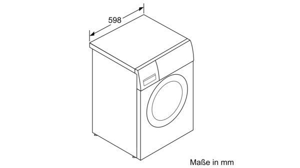 Top CONSTRUCTA - CWF14B21 - Waschmaschine, Frontlader IY36