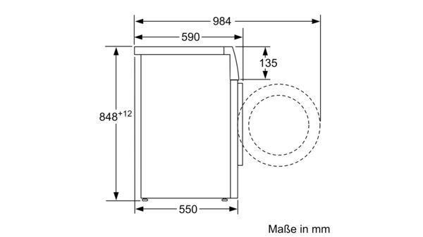 Turbo CONSTRUCTA - CWF14B21 - Waschmaschine, Frontlader XH03