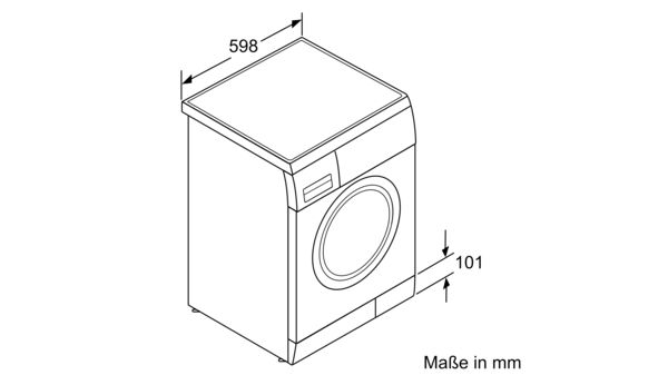 Favorit CONSTRUCTA - CWF14E44 - Waschmaschine, Frontlader NC28