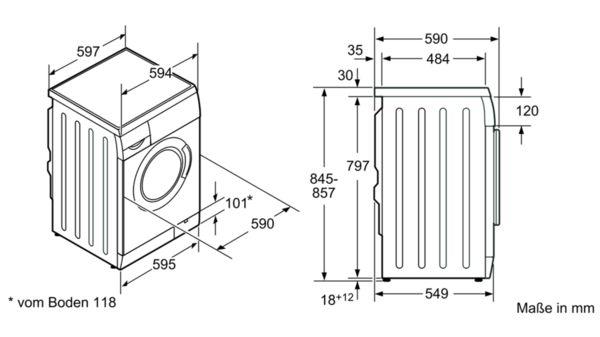 Sehr SIEMENS - WM14E443 - Waschmaschine, Frontlader PL54