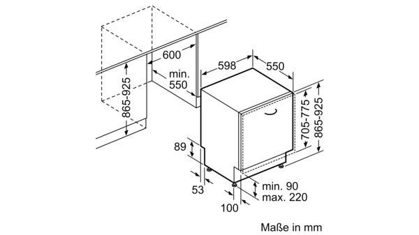 Extrem SIEMENS - SX678X36TE - Vollintegrierter Geschirrspüler DM51