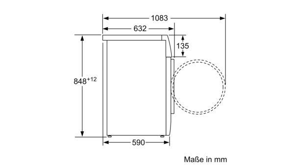 IQ700 Waschtrockner 7 Kg 1400 U Min WD14H540 2