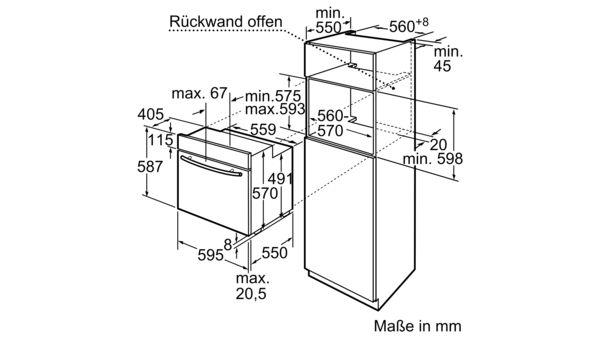 Turbo CONSTRUCTA - CF234753 - Einbau-Backofen TC66