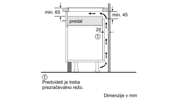 N 70 Indukcijska kuhalna plošča 90 cm Black T59TT60N0 T59TT60N0-5