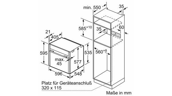 Gut bekannt NEFF - B45CR22N0 - Einbau-Backofen OY64