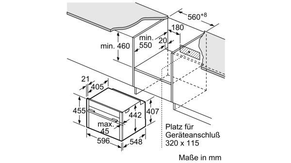 N 90 kompaktna parna peč 60 cm nerjaveče jeklo C15FS22N0 C15FS22N0-8