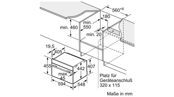 SIEMENS CM676G0S1 Einbau Kompaktbackofen mit