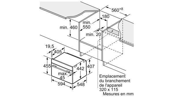 Siemens Cb675gbs3 Four Encastrable Compact