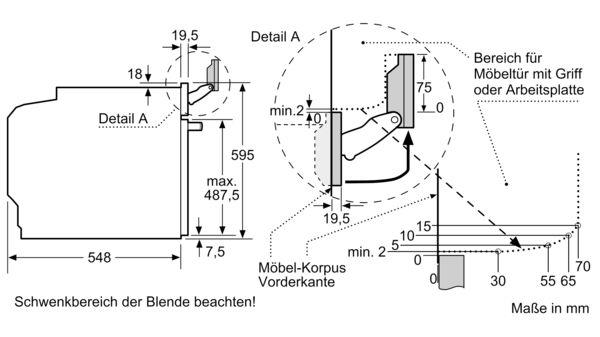 SIEMENS HN878G4B6 Einbau Backofen mit Mikrowellen und