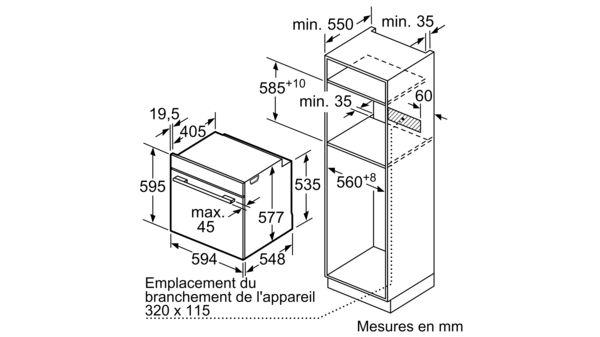 Four Intégrable 60 Cm Iq700 Hb674gbs1 Siemens