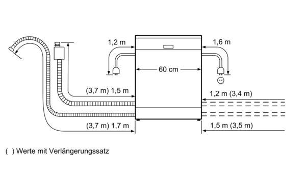 Ελεύθερο πλυντήριο πιάτων 60 cm Inox DGS5538 DGS5538-6