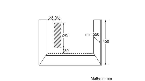 neff c67m50n3 einbau kompakt backofen mit integrierter. Black Bedroom Furniture Sets. Home Design Ideas