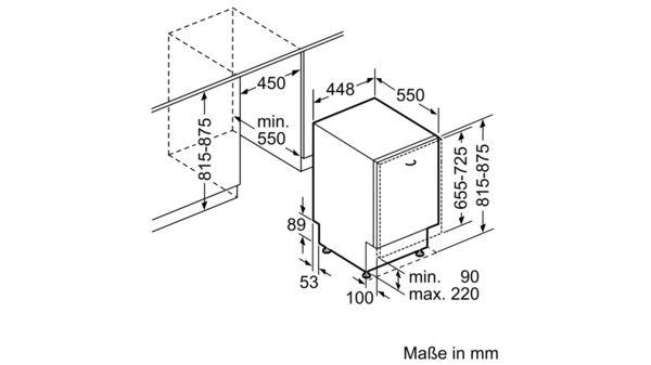 Bevorzugt SIEMENS - SR656X00TD - Vollintegrierter Geschirrspüler TY47