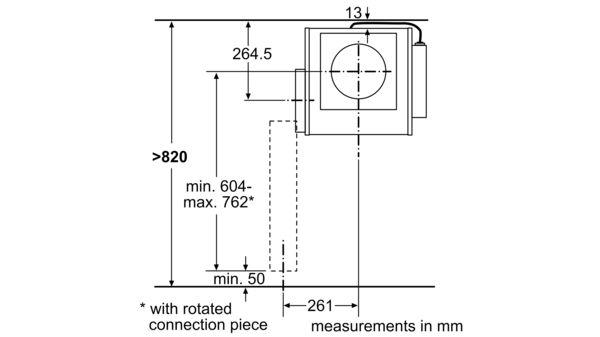 worktop ventilation 11 cm wide - n 90