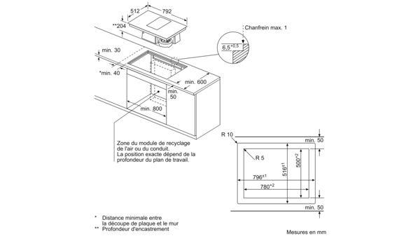 siemens ed801fs11e table de cuisson induction avec. Black Bedroom Furniture Sets. Home Design Ideas
