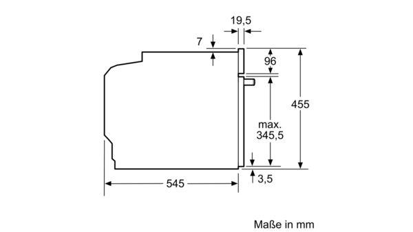 NEFF C1APG64N0 Einbau Mikrowelle mit Dampfgarfunktion