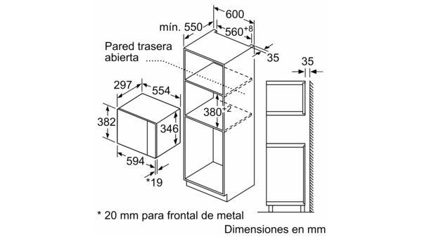 Microondas Balay 3cp5002b0 Cristal Blanco 20 Litros Mecanico