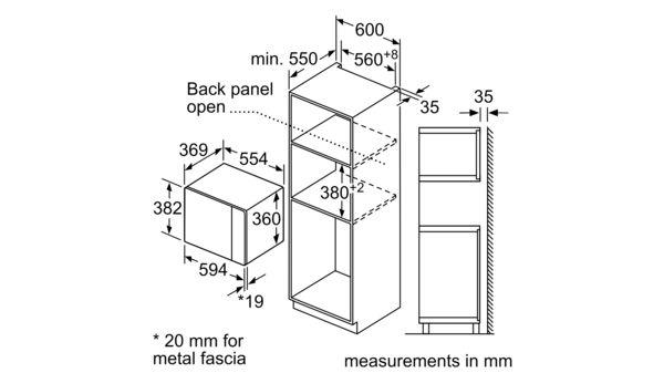 built-in microwave oven - n 50