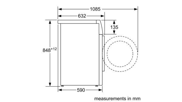 SIEMENS - WM16YH79GB - washing machine, front loader