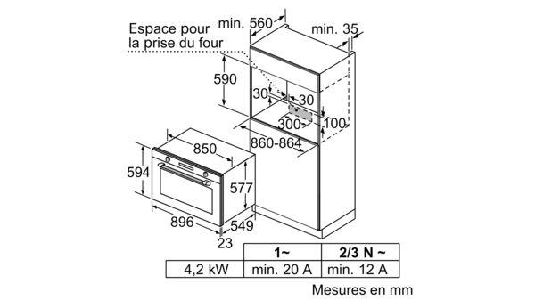 Siemens Vb578d0s0 Four Encastrable