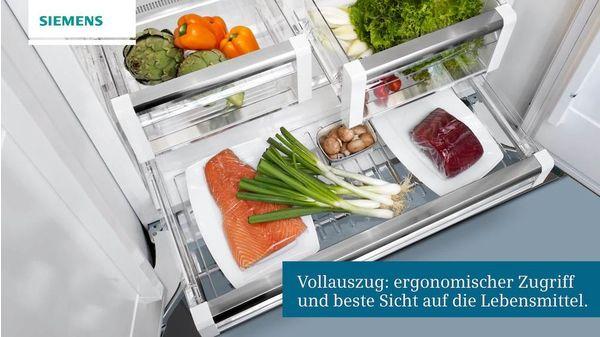 Siemens Kühlschrank Eiswürfelbereiter Bedienungsanleitung : Coolconcept nofrost side by side integrierbar iq700 ci36bp01