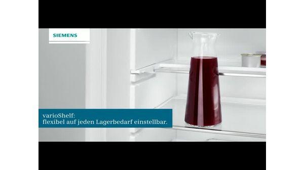Kühlschrank Kombination : Einbau kühl gefrier kombination flachscharnier technik iq