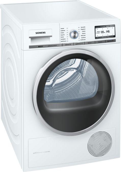 Iq800 Selfcleaning Condenser Warmepumpen Waschetrockner Wt48y770ex