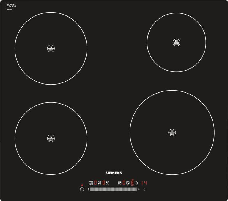 Piano Cottura Ad Induzione 60 Cm Vetroceramica Montaggio A Filo