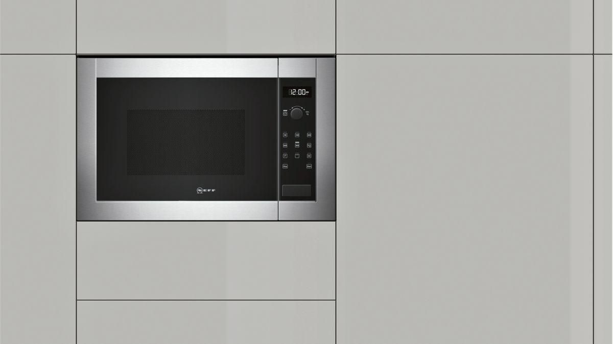 Forno a microonde da incasso h12ge60n0 neff - Mobile porta forno microonde ...