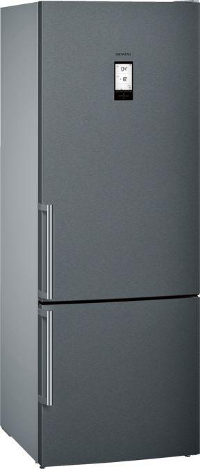 Siemens Kg56nax30u Freestanding Fridge Freezer Bottom