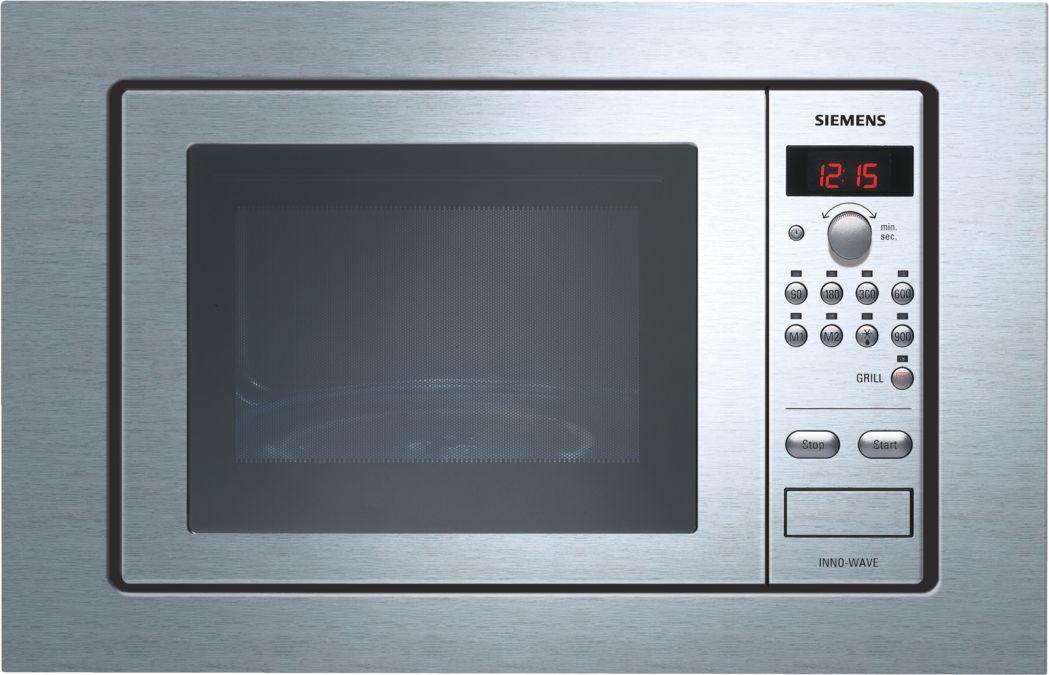 Mikrowellengerät mit grill edelstahl hf siemens