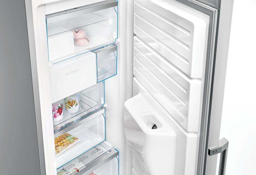 Kühlschrank Und Gefrierschrank Mit Eiswürfelspender : Einbau gefrierschrank mit eiswürfelbereiter kühlschrank