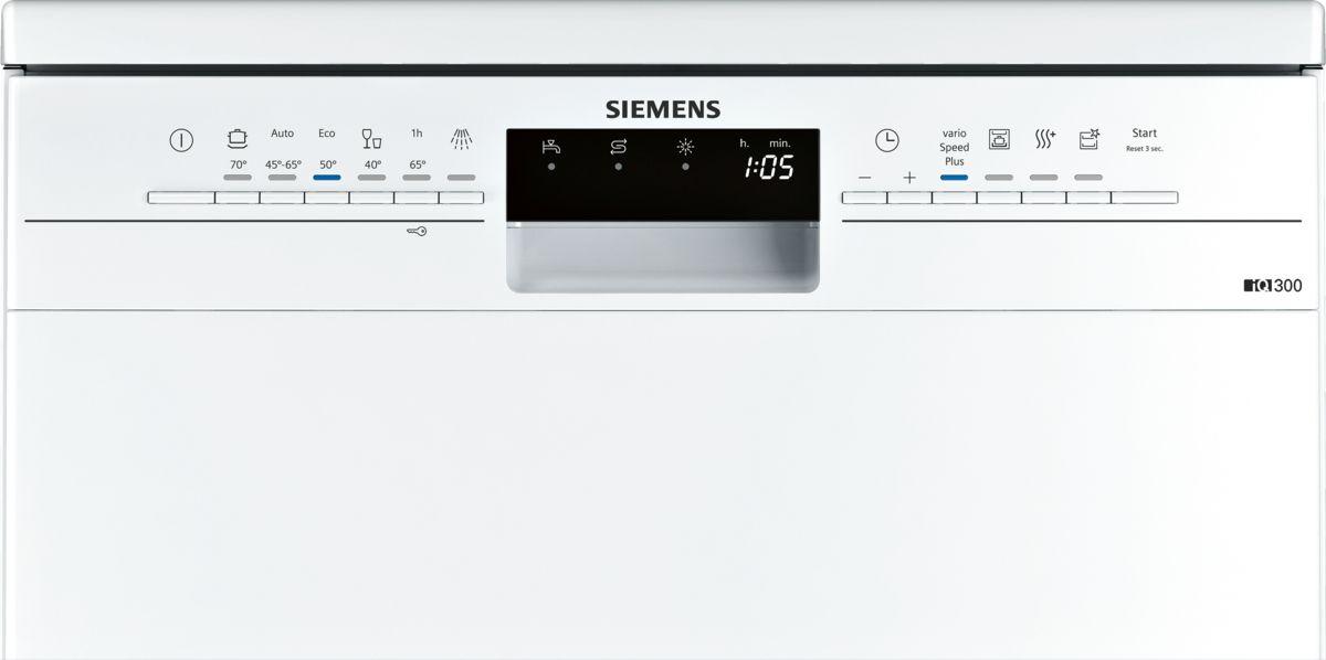 Siemens SN236W01KE Geschirrspüler iQ300 Freistehend 60cm Weiß Neu