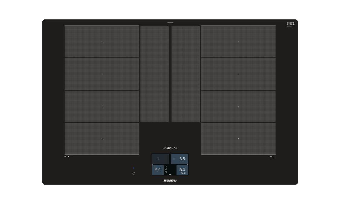 Siemens Kühlschrank Lock Ausschalten : 80 cm induktions kochfeld autark glaskeramik iq700 ex807kyx1e
