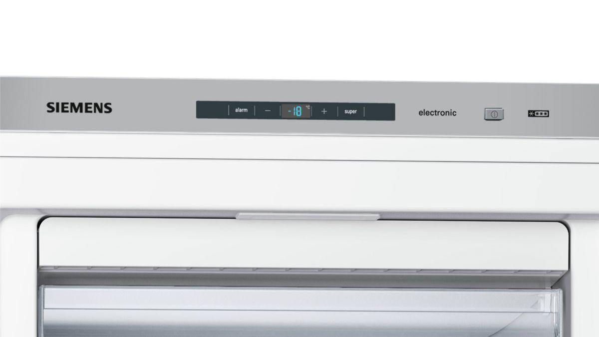 Siemens Kühlschrank Blinkt : Nofrost stand gefrierschrank türen weiß iq gs nyw siemens