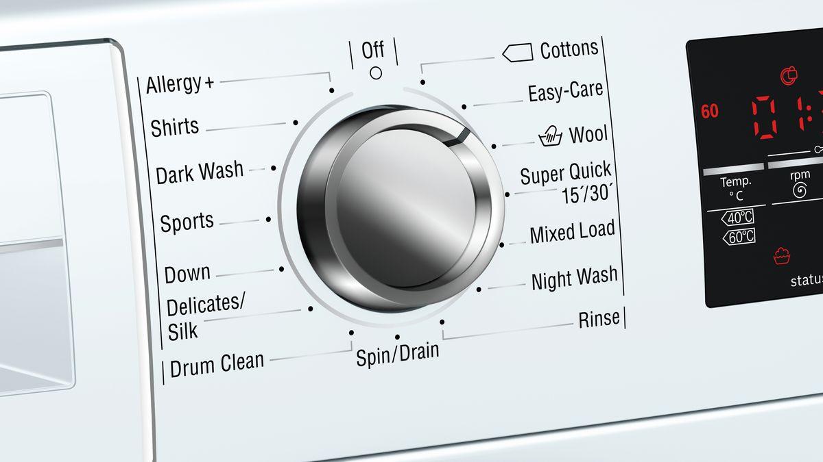 Washing machine, front loader 9 kg 1400 rpm W7460X4GB