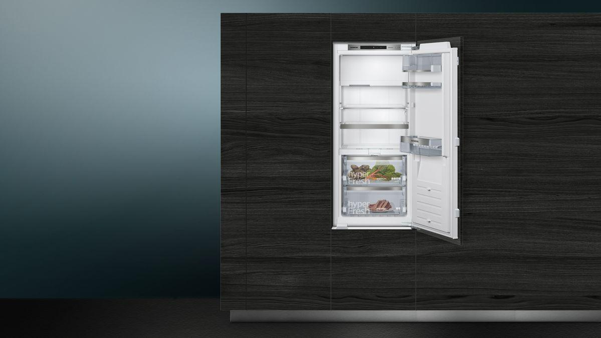 Einbau Kühlautomat Flachscharnier Technik, SoftEinzug Mit Türdämpfung    IQ700   KI42FAD30   SIEMENS