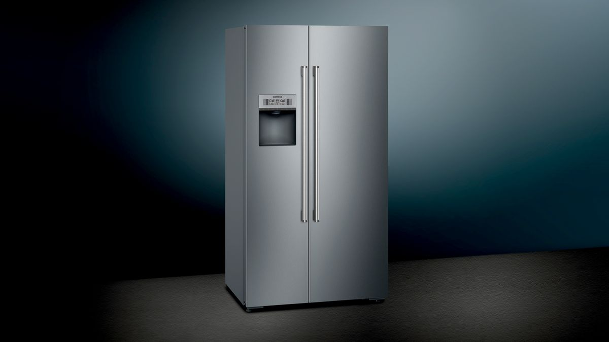 Siemens Kühlschrank Alarm Piept : Nofrost kühl gefrierkombination side by side türen edelstahl