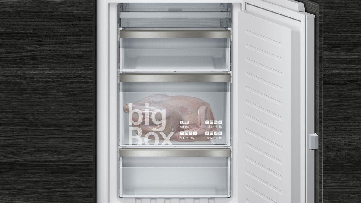 Siemens Kühlschrank Scharnier Einstellen : Nofrost einbau kühl gefrier kombination flachscharnier technik